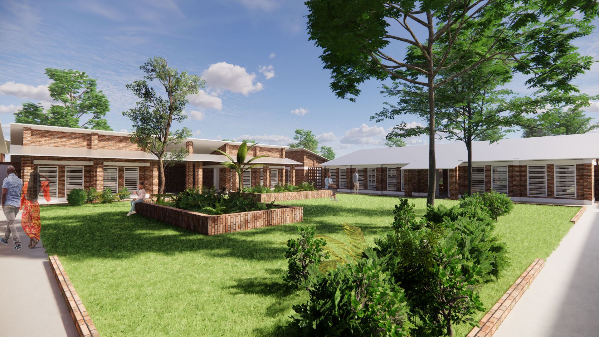 Maternity and child CLINIC with nurse/midwife learning centre